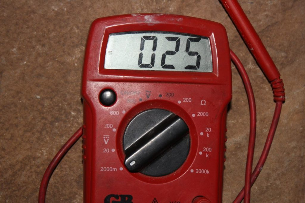 digital multimeter gas fireplace repair