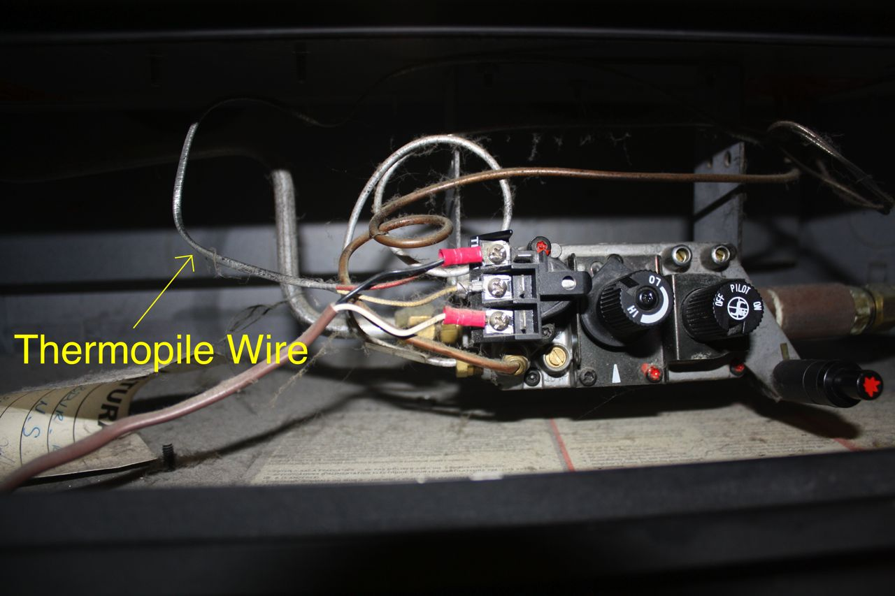 how to test your thermopile - www.mygasfireplacerepair.com fireplace remote sensor wiring diagram